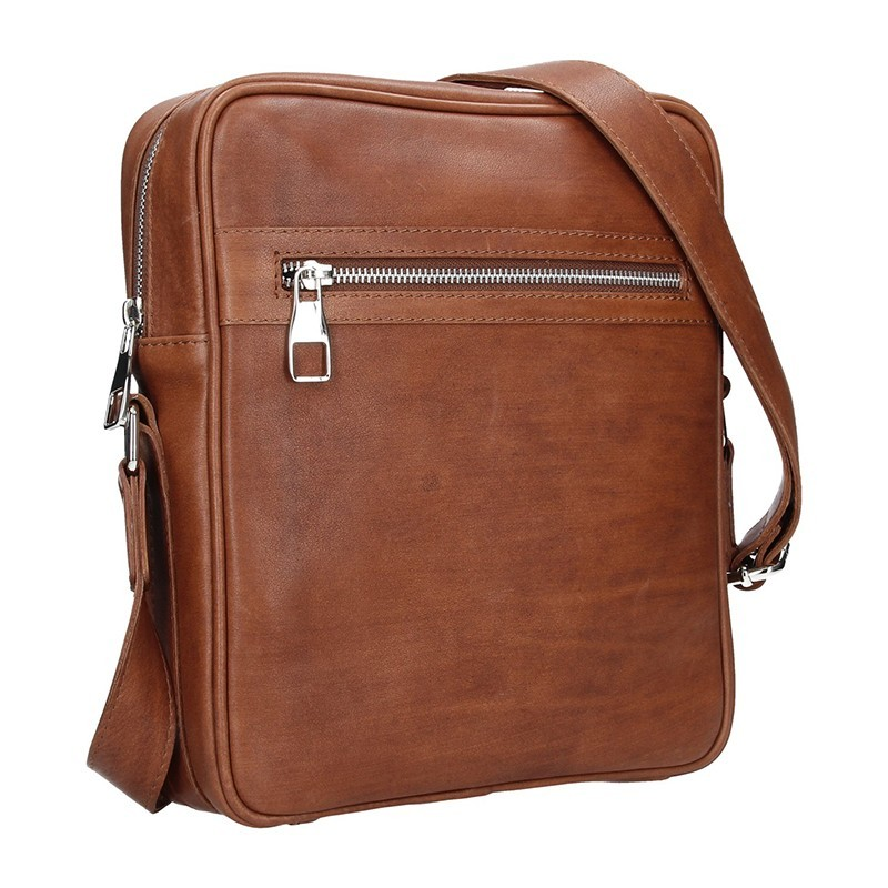 Pánská taška přes rameno Facebag Martin - světle hnědá