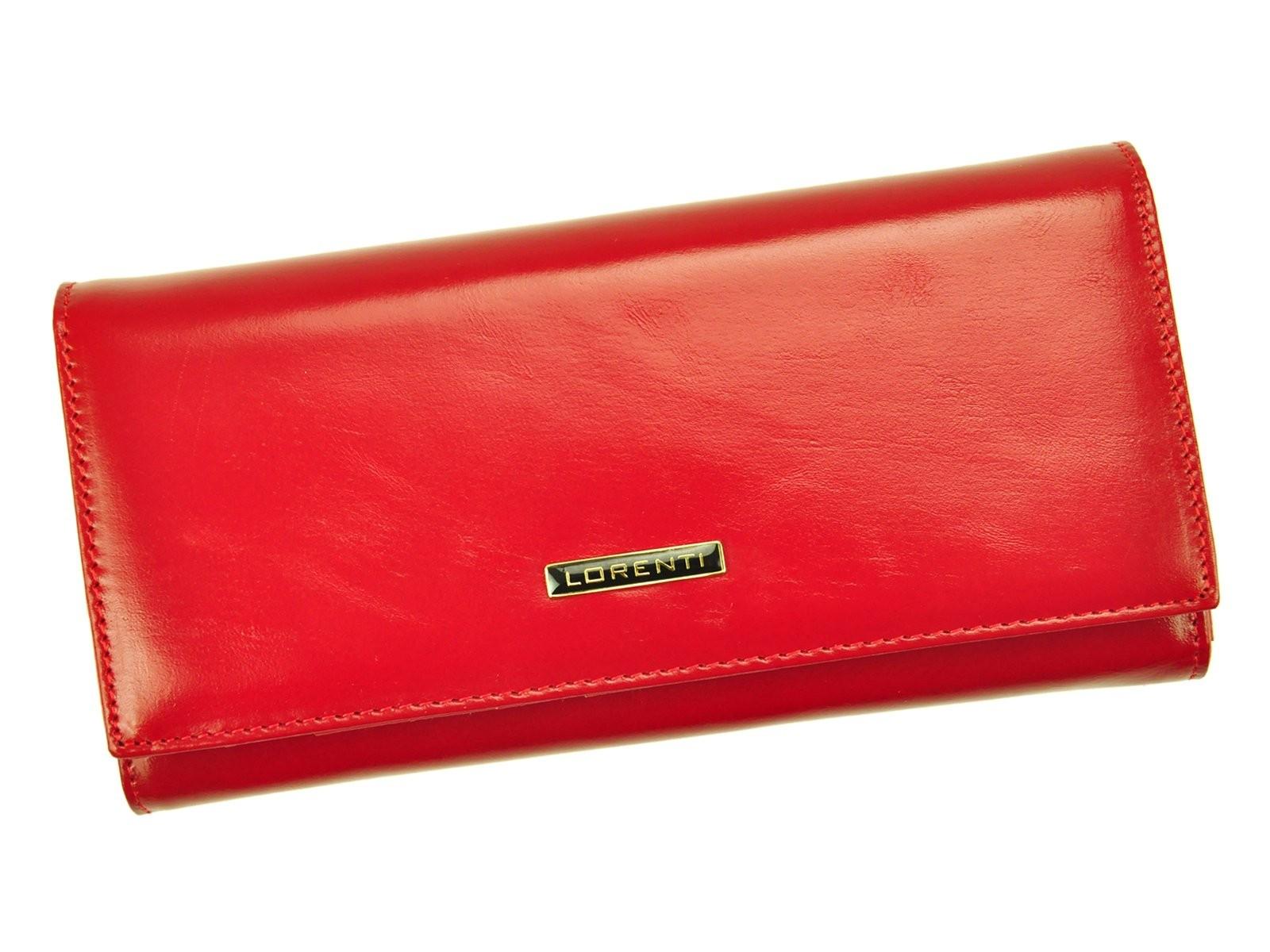 b52cc1d5d67 Dámská kožená peněženka Lorenti Julie - červená