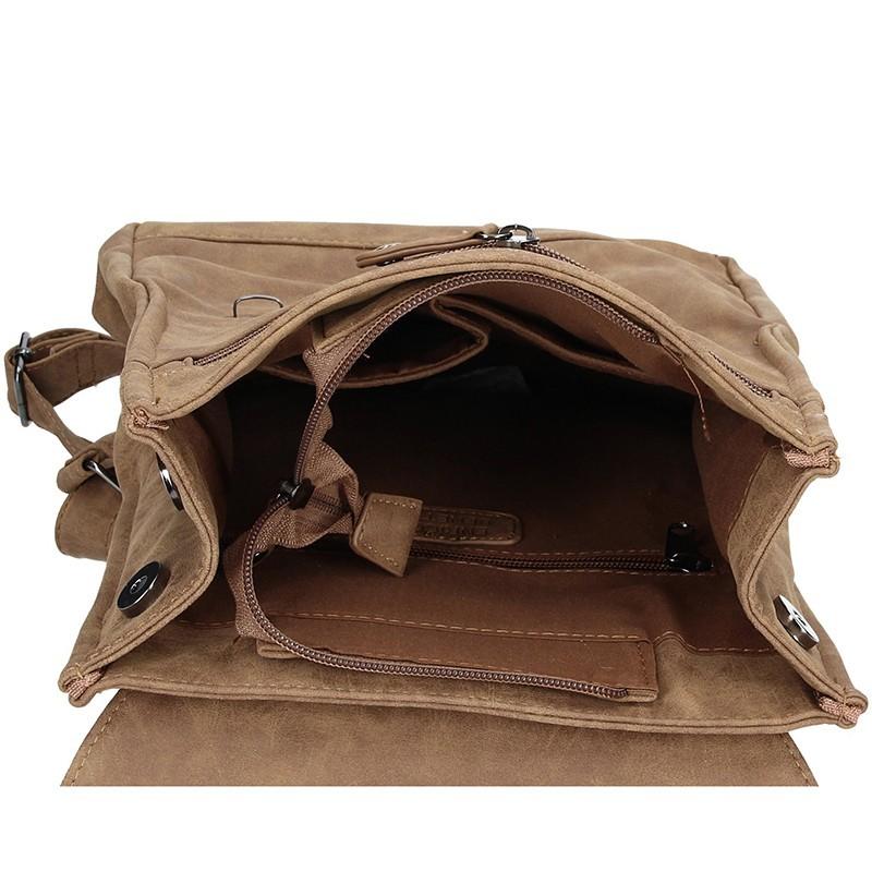 Moderní dámský batoh Enrico Benetti Vilma - camel
