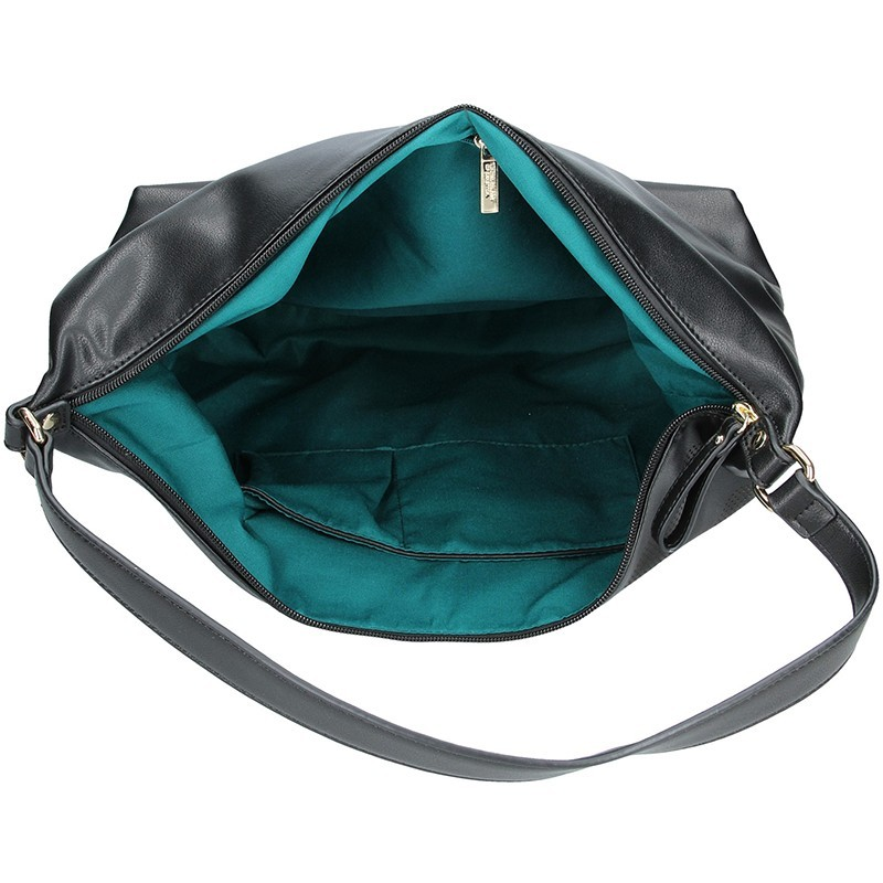 Dámská kabelka United colors of Benetton Leona - černá