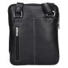 Pánská kožená taška přes rameno SendiDesign Luis - černá