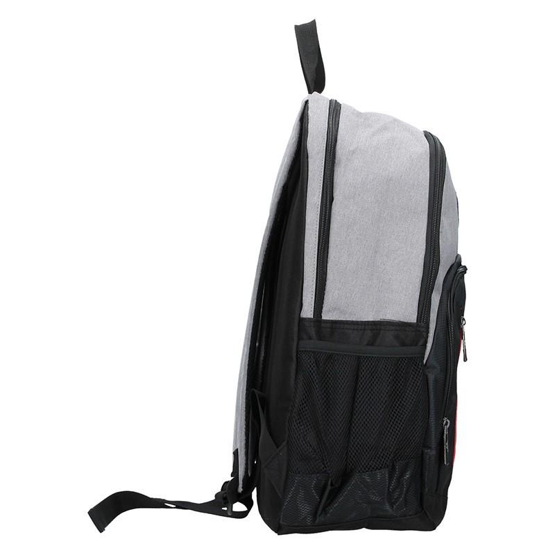 Pánský sportovní batoh Enrico Benetti Gole - černo-světle šedá