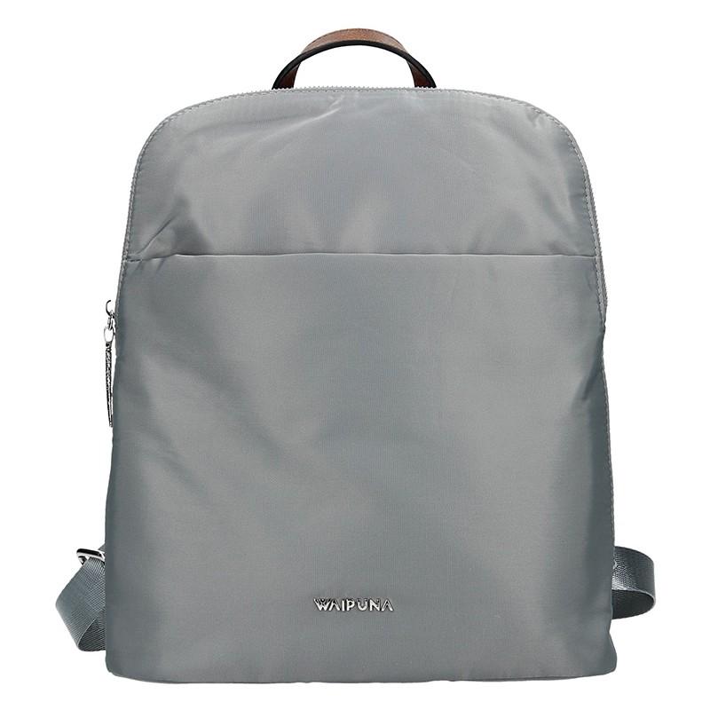 Dámský batoh Waipuna Lissa - šedá 3c25e1cf04