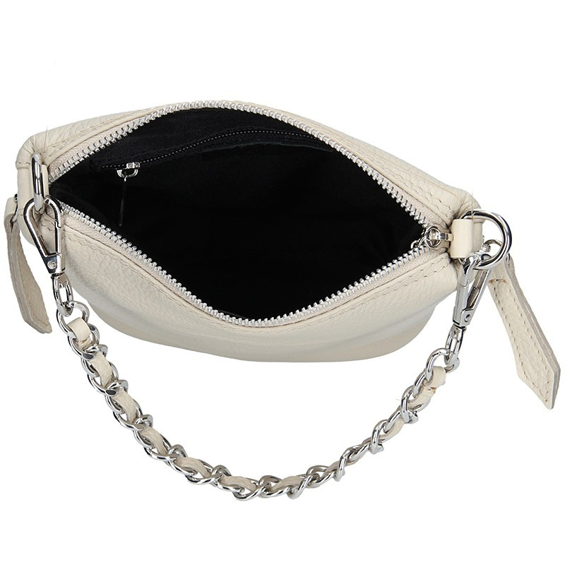 Dámská kožená kabelka Facebag Roberta - růžová