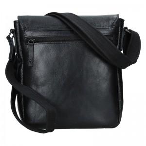 Pánská kožená taška 2JUS Stone 2 - hnědá