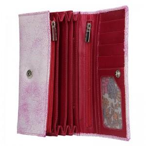 Dámská kožená peněženka DD Anekta Tarela - modro-bílá