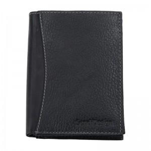 Pánská kožená peněženka SendiDesign 5501 FH - černá