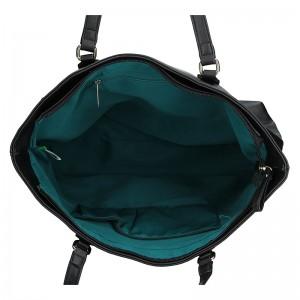 Dámská kabelka United colors of Benetton Elore - černá