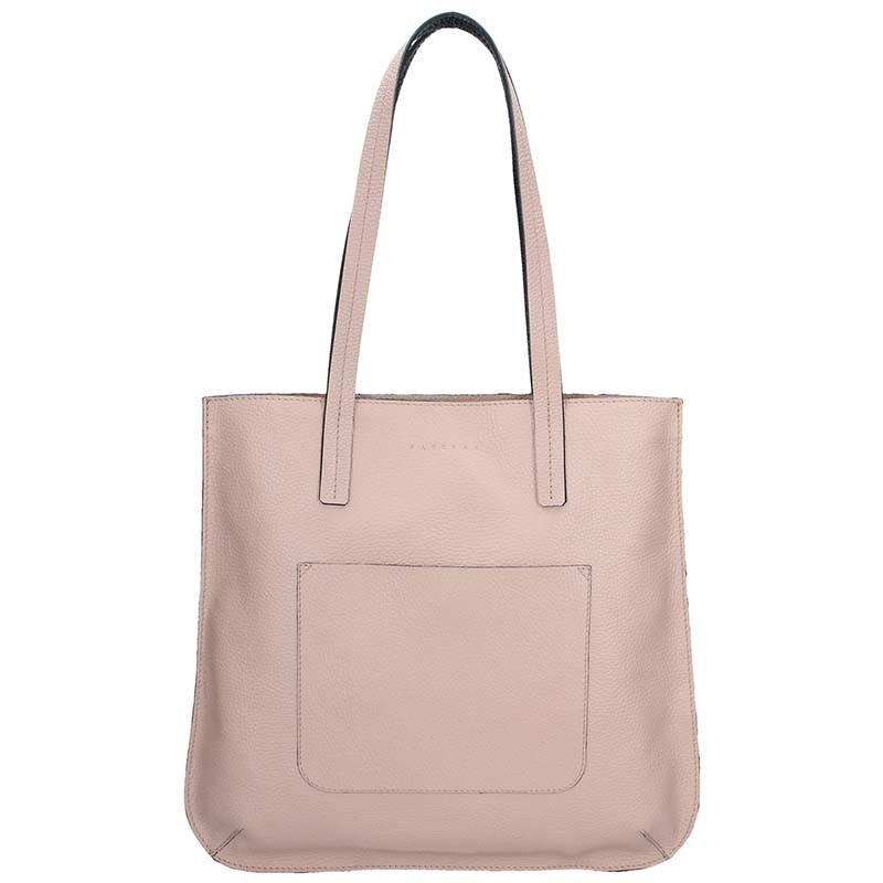 Dámská kožená kabelka Facebag Greta - světle růžová 7e8e22e42e4