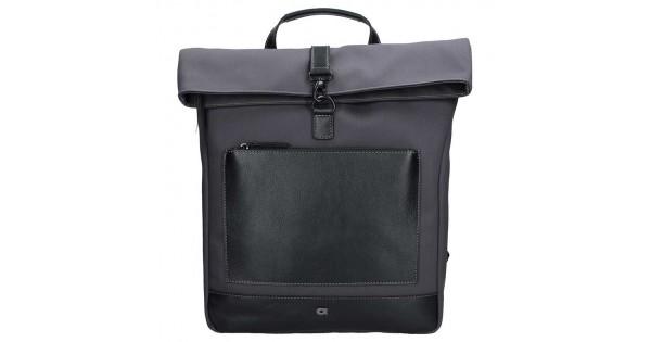 e39f942e56 Pánský vintage batoh Daag Hugo - černo-šedá