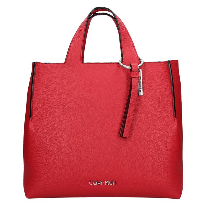 Dámská kabelka Calvin Klein Neah - červená