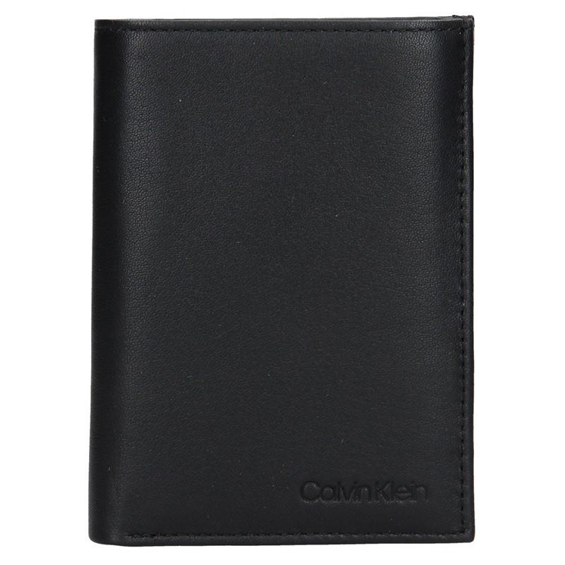 Pánská kožená peněženka Calvin Klein Jacob - černá