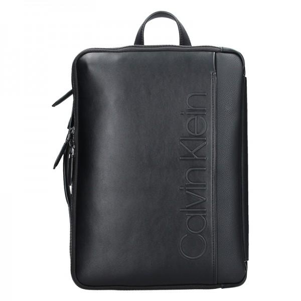 Pánský batoh Calvin Klein Leopold - černá