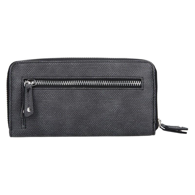 Dámská peněženka Suri Frey Agáta - černo-šedá
