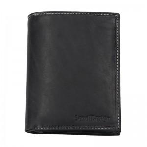 Pánská kožená peněženka SendiDesign 5741 (P) VT - černá