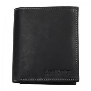 Pánská kožená peněženka SendiDesign 5758 (P) VT - černá