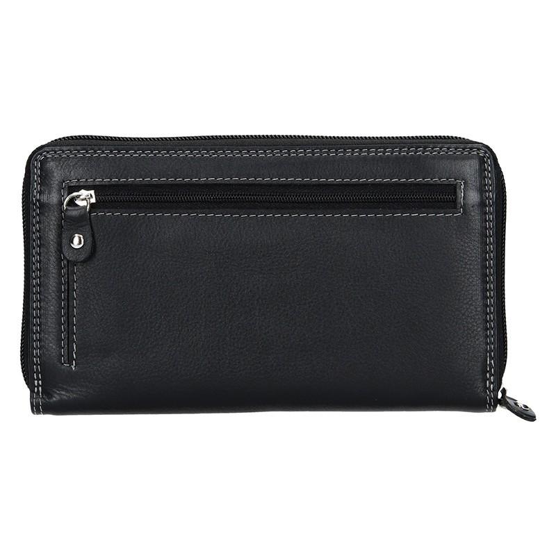 Dámská kožená peněženka DD Anekta Nikol - vínová