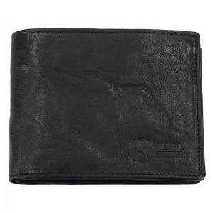 Pánská kožená peněženka SendiDesign SNW6856 - černá