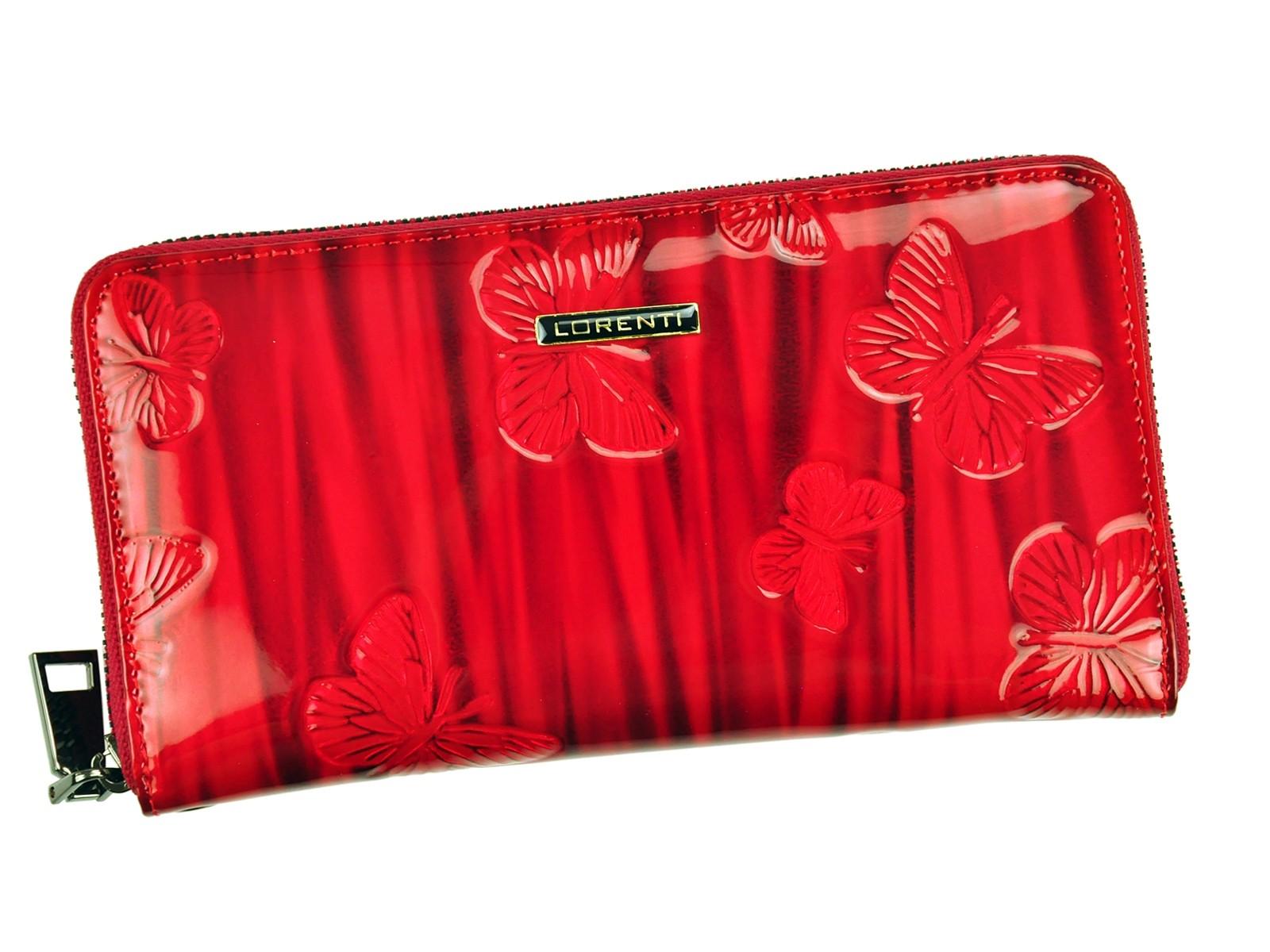 0efb59e09f Dámská kožená peněženka Lorenti Beata - červená
