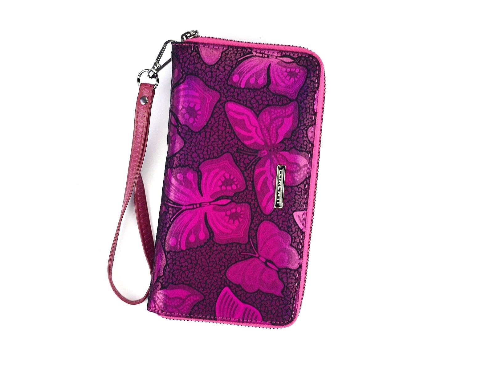 56a3d96bddc Dámská kožená peněženka Lorenti Sara - růžová