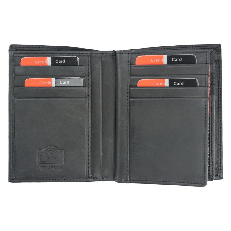 Pánská kožená peněženka Pierre Cardin Patrick - černá