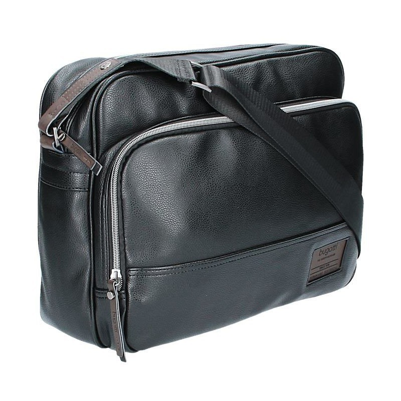 Pánská taška přes rameno Bugatti Moto D - černá