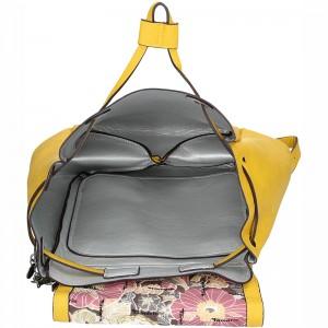 Dámský fashion batoh Tamaris Lorella - žlutá
