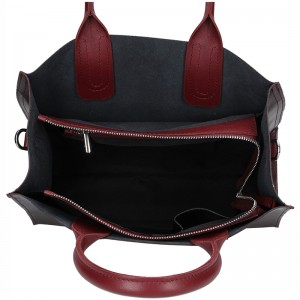 Dámská kožená kabelka Facebag Monarch - vínová