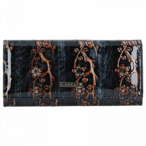 Dámská kožená peněženka Lorenti Dana - černo-hnědá