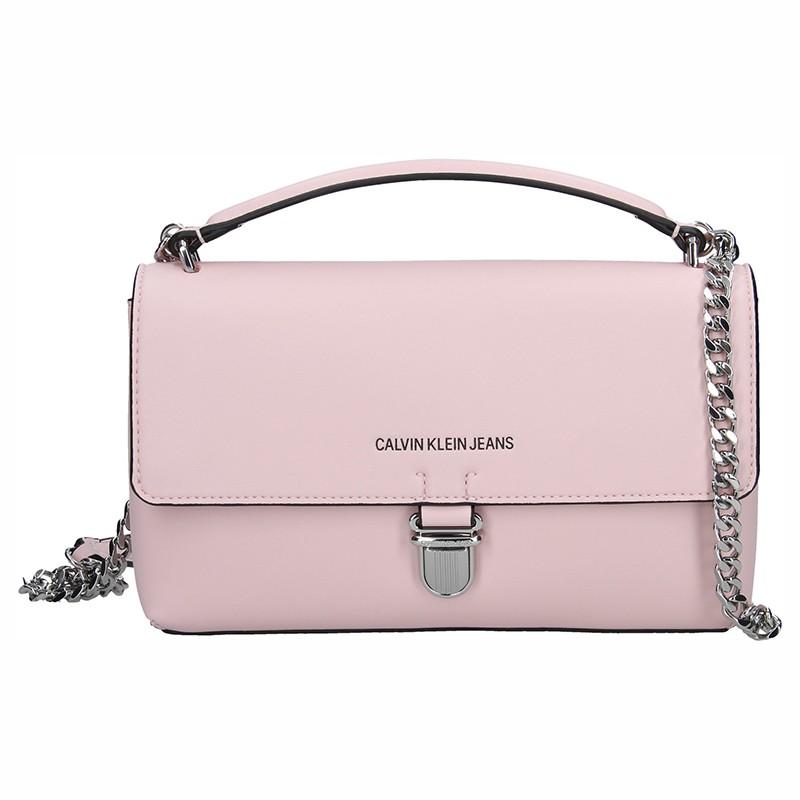 285b6ef1ad Dámská crossbody kabelka Calvin Klein Amalia - růžová