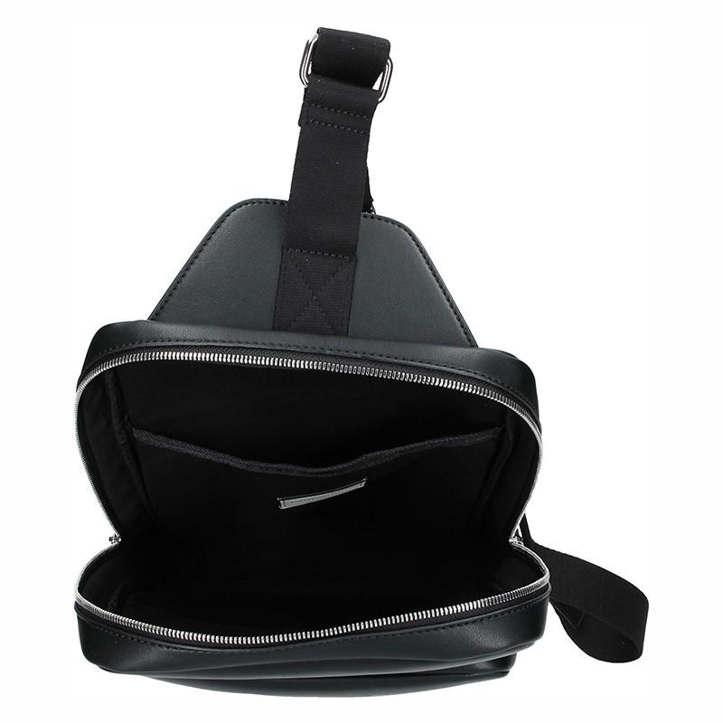 Pánská sross taška přes rameno Calvin Klein Edmond - černá