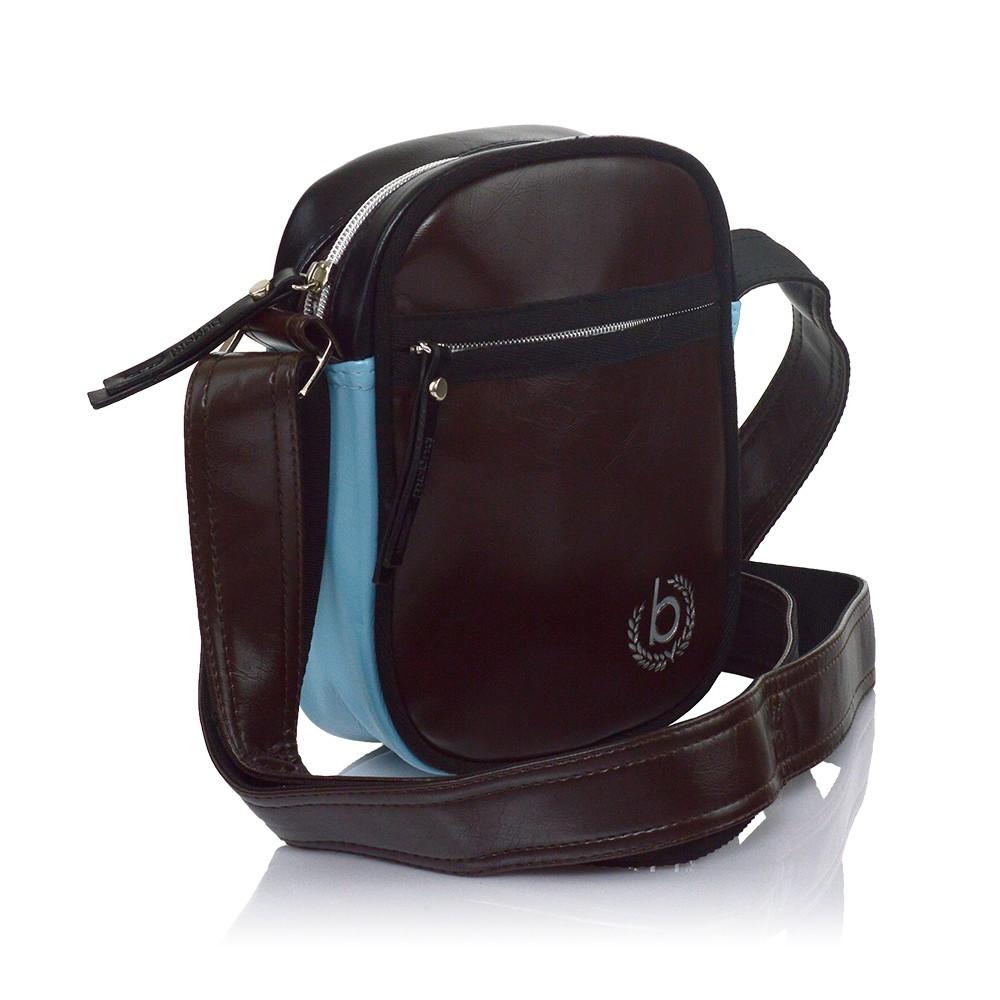 Pánská taška přes rameno Bugatti Raul - hnědá 1b3cc603c27