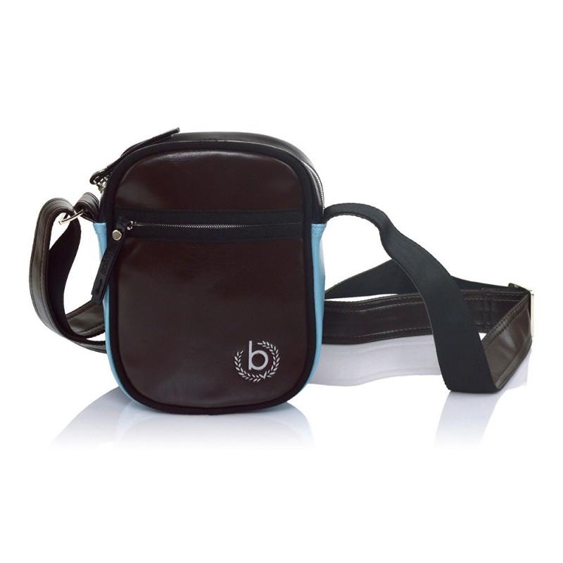 Pánská taška přes rameno Bugatti Raul - hnědá
