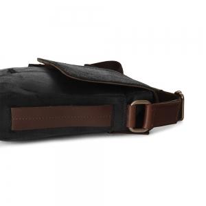 Pánská taška přes rameno Bugatti Grinta - černá