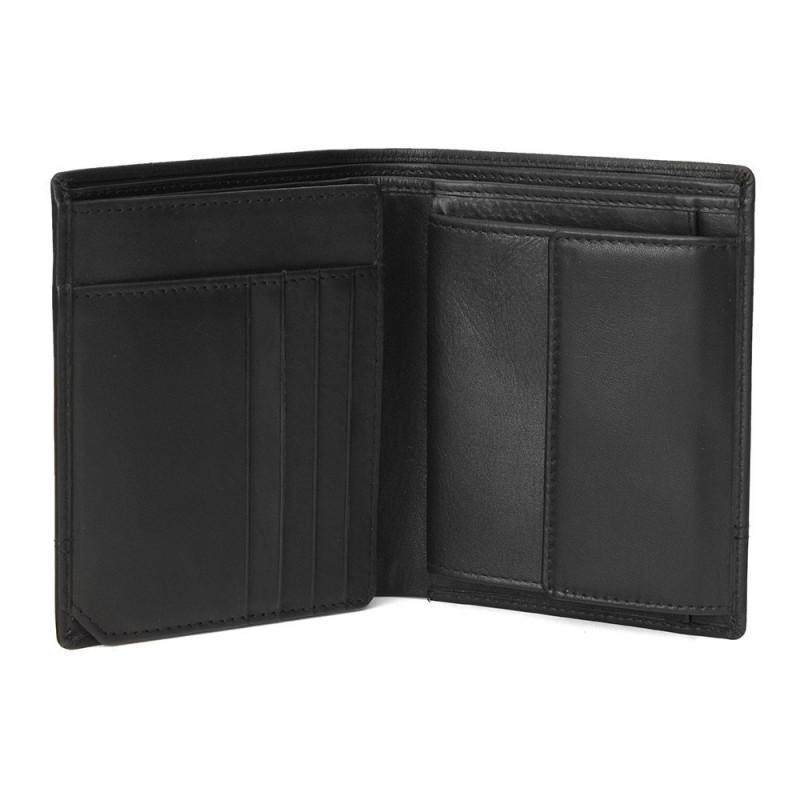 Pánská kožená peněženka Bugatti Kent - černá