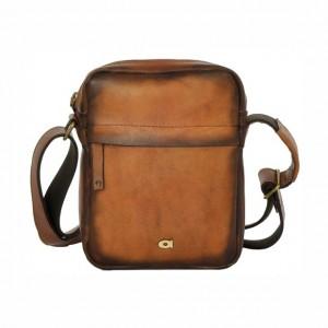 Luxusní pánská kožená taška Daag ALIVE 37 - hnědá