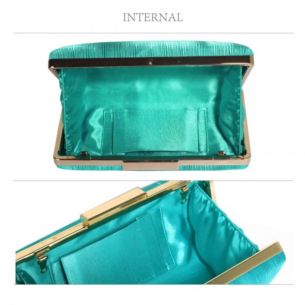 Dámské psaníčko LS Fashion Holly - zelená