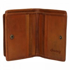 Pánská kožená peněženka Daag alive P08 - hnědá