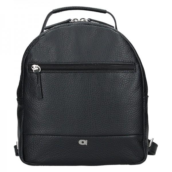 Dámský kožený batoh Daag Native 11 - černá