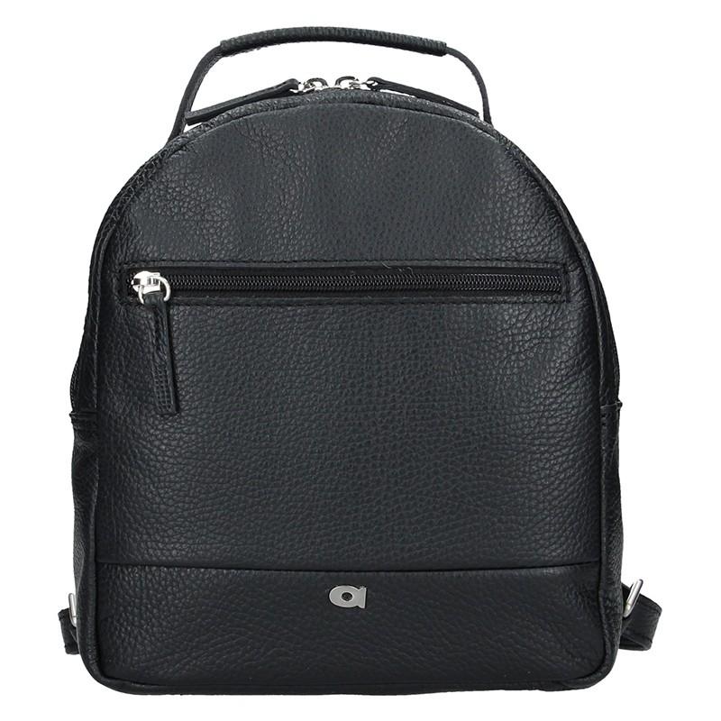 93f1f1c30d9 Dámský kožený batoh Daag Native 11 - černá