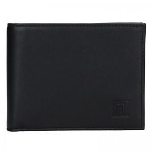 Pánská peněženka Hexagona Adam - černá