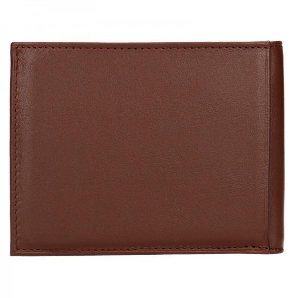 Pánská peněženka Hexagona Adam - hnědá