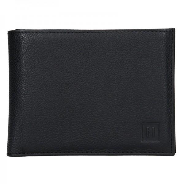 Pánská peněženka Hexagona Leon - černá