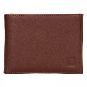 Pánská peněženka Hexagona Leon - hnědá