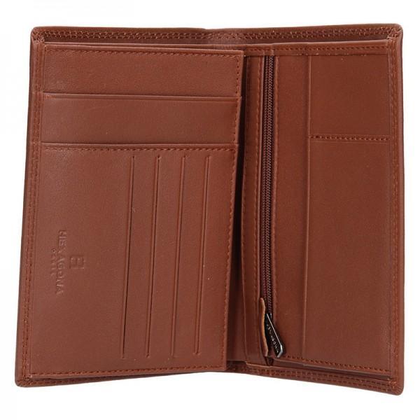 Pánská peněženka Hexagona Radim - hnědá