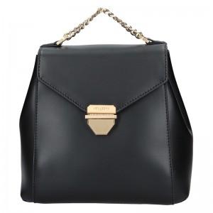 Elegantní dámský batoh Hexagona Reina - černá