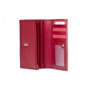 Dámská kožená peněženka Lagen Nikol - červená