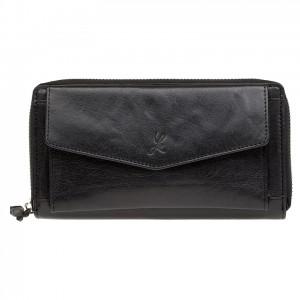 Dámská kožená peněženka Lagen Lena - černá