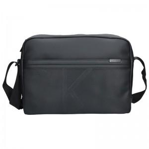 Pánská taška přes rameno Calvin Klein Simons - černá 64b851a1e50