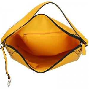 Dámská kabelka United colors of Benetton Vilma - žlutá